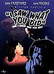 I Saw What You Did and I Know Who You Are William Castle Horror DVD Rare OOP HTF