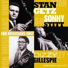 Stan Getz, Dizzy Gillespie, Sonny Stitt - For Musicans Only    Vinyl LP