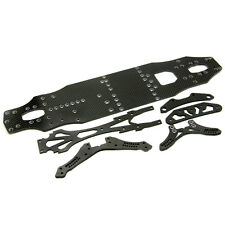 Carbon Fiber Chassis Set For 1/10 RC Sakura D4 RWD AWD Racing Drift Car
