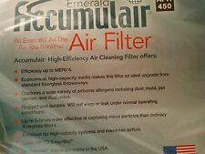 Accumulair Emerald 21.5x23.5x1 MERV 6 Air Filter/Furace Filters (4pack)