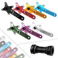 104BCD MTB Crankset w/ Bottom Bracket Mountain Bike Bicycle Crank Kit 170/175mm