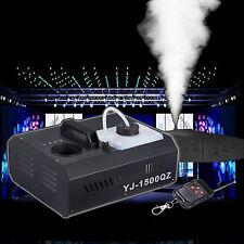 1500W Fumo macchina DMX Stage discoteca Party Bottom fog machine Remote