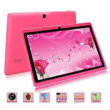 "iRULU New 7"" 16GB Google Android 4.4 KitKat Quad Core Capacitive Pink Tablet PC"