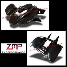 NEW HONDA TRX 400EX 99 - 04 PLASTIC BLACK FRONT AND REAR FENDER SET TRX400EX