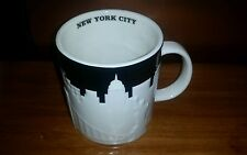 Starbucks Collectible Taxi Cab New York City Relief 16 Fl Oz Mug New Fast Ship!