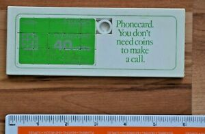 very rare British Telecom phonecard puzzle, 1990's. Unused.