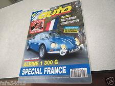 REVUE MAGAZINE auto Passion N° 87 Bugatti Royale Citroen Traction Alpine *