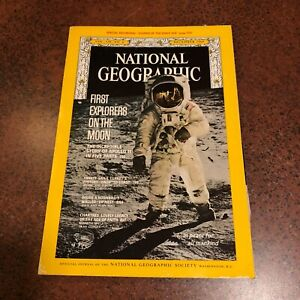 National Geographic Magazine December 1969 Apollo 11 Moon Landing