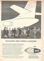 1959 Original Advertising' SAS Scandinavian Airlines System Company Outlin