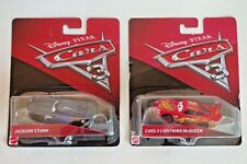 New Disney Pixar Cars 3 Lot 2 Diecast 1:55 Lightning McQueen Jackson Storm Race