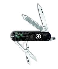 Victorinox Swiss Army Key Chain Knife Classic - Ltd Ed - Spider Web - Free Ship