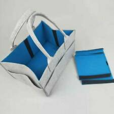 Feeding Bottle Diaper Storage Basket Foldable Toy Storage Changing Bag FA