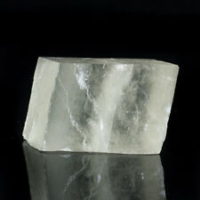 "4.4"" Gemmy ICELAND SPAR Calcite Crystal Double Refracting Rhomb Mexico for sale"