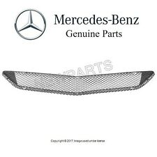 Mercedes W211 E320 E350 E550 07-09 Front Center Bumper Cover Mesh Grille Genuine
