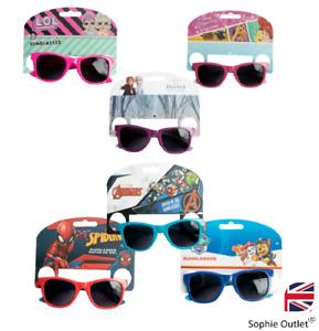 Kids Novelty Sunglasses FROZEN SPIDERMAN LOL DISNEY MARVEL Sun Shades Toy Gift