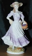 Royal Worcester Autumn Figurine Limited Edition The Four Seasons Collection
