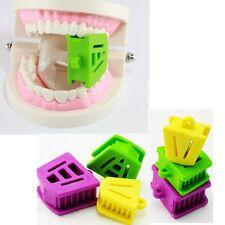 New listing Dental 6Pcs Silicone Mouth Prop Bite Block Cushion Opener Retractor S/M/L Fda/Ce