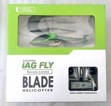 iAG Fly R/C Blade Helicopter 3.5 Channel (Green)- NEW(SEALED)