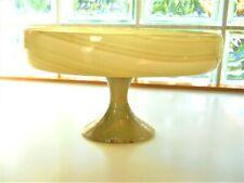 Genuine Onyx Compote Dish Vase Ikebana