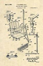 Official FIRST Ski Lift US Patent Art Print- Vintage Antique Rossignol Chair 440
