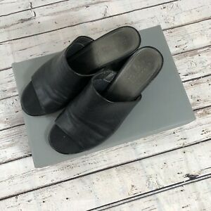 Kenneth Cole Reaction Mass-ter Mind Mules Open Toe Shoes - Size 8 M