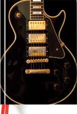 Flametree Les Paul Black Guitar Journal 6.00 x 8.50 inches, magnetic closure NEW
