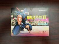 Ninja Gaiden 2 II Dark Sword of Chaos - Nintendo NES Instruction Booklet Manual