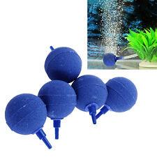 5PCS Air Bubble Stone Aerator Aquarium Fish Tank Pond Pump Hydroponic Oxygen Hot