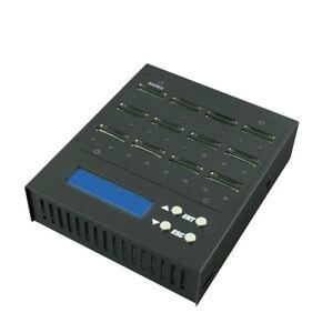 EZ Dupe 1:23 Portable SD Card Duplicator 1.5GB/Min, Copier & Sanitizer/Eraser