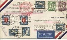 ZEPPELIN-HINDENURG 1936-1st North America Flight-DANZIG DISPATCH via