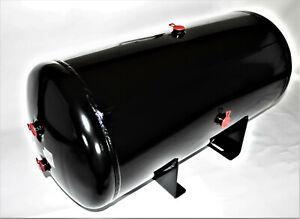 Druckluftkessel 100l Druckluftbehälter mit Angeschweisster Konsole 4999.1