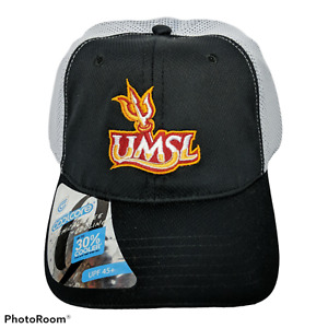 UMSL Tritons Black White Baseball Imperial Strapback Hat CoolCore One Size