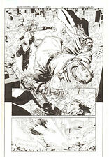 Avengers: Children's Crusade #8 p.16 Doctor Doom Punched 2012 art by Jim Cheung