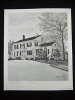 Robert Redden Rome, GA Georgia HOUSE PRINT Signed & Numbered #2478/3000