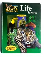 2001 Holt Science And Technology Life Science California 6th Grade Biology Book