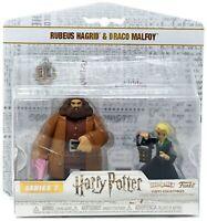 RUBEUS HAGRID & DRACO MALFOY Vinyl Figures Funko Heroworld Series 7 Harry Potter