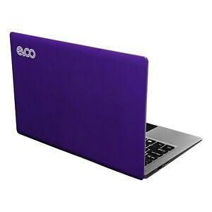 "Purple EVOO 11.6"" HD Laptop Celeron Intel N4000 64GB 4GB Windows 10 Netbook New"