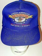 OOAK Rare Signed Al Unser Sr Bobby Unser Signed Autographed Hat NADA 1992