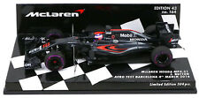 Minichamps McLaren Honda MP4-31 #22 Aero Test 2016 - Jenson Button 1/43 Scale