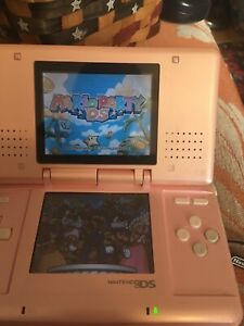 pink nintendo DS model no. NTR-001
