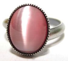 Modeschmuck-Ringe aus gemischten Metallen mit Cabochon-Schliffform