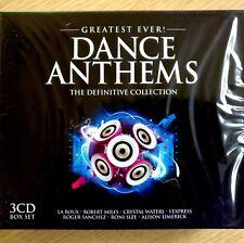 3CD NEW - DANCE ANTHEMS - Pop Club Music 3x CD Album - Sanchez Miles La Roux