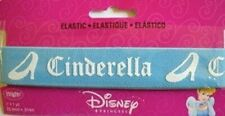 "Disney Princess Cinderella Elastic Blue and White 1"" Inch Wrights Sewing Trim"