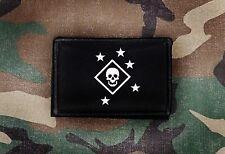Marine Raider Black  2x3 Tactical Hook Morale Patch MARSOC USMC Marines Marpat