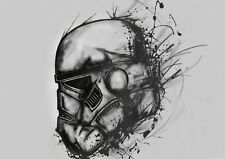 Storm Trooper Star Wars Photo Poster Print ONLY Wall Art A4