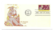 2023  St. Francis of Assisi,  Colonial, FDC