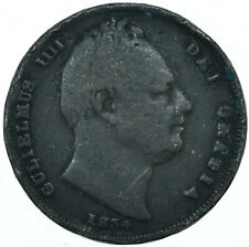 More details for 1834 one farthing gb uk william iv very nice collectible coin #wt27944