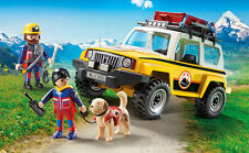 PLAYMOBIL® 9128 Mountain Rescue Emergency Vehicle NEW 2017 - S&H FREE WORLDWIDE