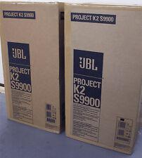 JBL Synthesis K2 S9900 Zebra wood, BRAND NEW IN BOX NEVER USED! Full Warranty!