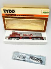 New Old Stock 1975 Tyco Santa Fe Locomotive with Headlight #235-21